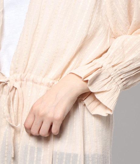 ストライプガウンワンピース(ワンピース・ドレス/スカート・ロングワンピ) | AULI