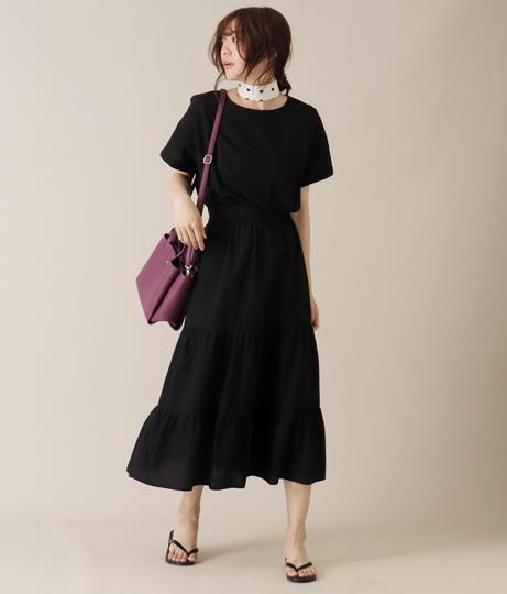 ティアードワンピース(ワンピース・ドレス/ロングワンピ) | AULI