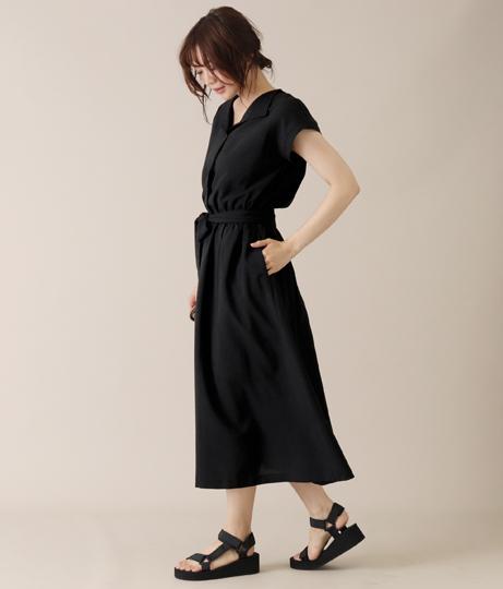 スキッパーワンピース(ワンピース・ドレス/ロングワンピ) | AULI