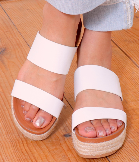 ダブルベルトコンフォートサンダル(シューズ・靴/サンダル)   Anap USA