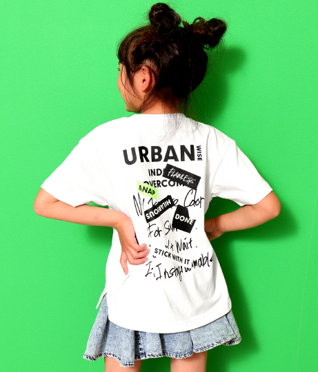 両面プリントBig-Tee(トップス/Tシャツ)   ANAP KIDS