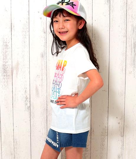 グラデーションプリントTシャツ(トップス/Tシャツ) | ANAP KIDS