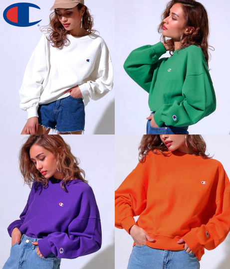 Champion REVERSE WEAVE CREW NECK SWEAT SHIRT