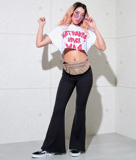 メッセージプリントTシャツ(トップス/Tシャツ・カットソー ) | Anap USA