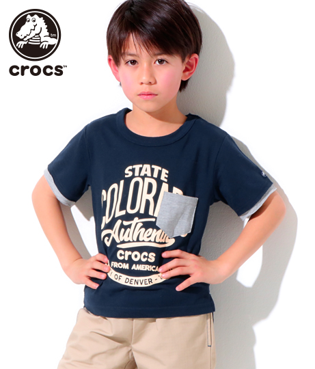 crocs Tシャツ