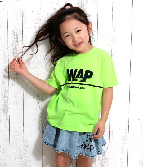 NEONカラーカットオフBIGTee(トップス/Tシャツ) | ANAP KIDS