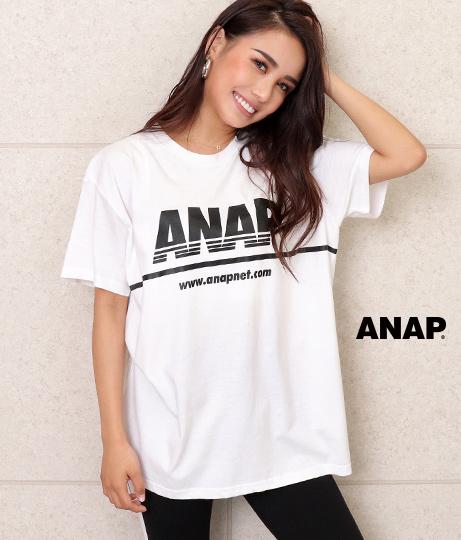 ANAPロゴプリントTシャツ