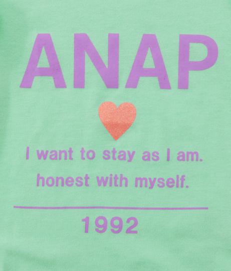 フリル袖シンプルロゴトップス | ANAP KIDS