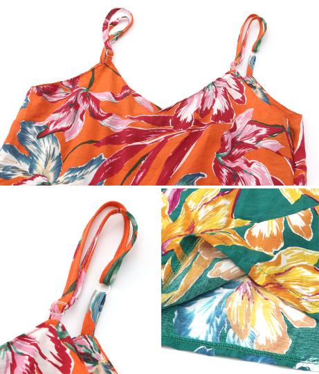 リーフデザインサロペット(ワンピース・ドレス/サロペット/オールインワン) | anap mimpi