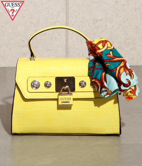 GUESS ANNE MARIE TOP HANDLE FLAP(バッグ・鞄・小物/ハンドバッグ・ショルダーバッグ) | GUESS