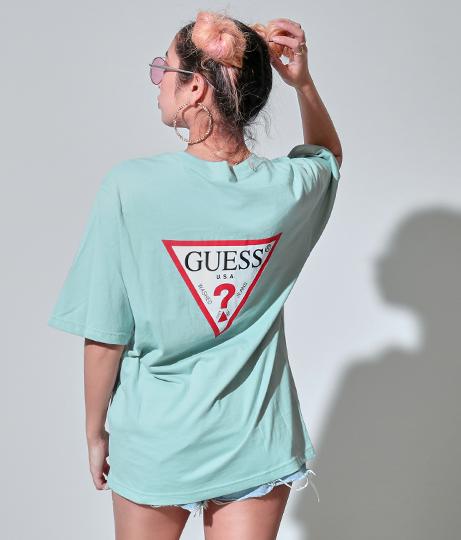 GUESS LOGO PRINT TEE SHIRT | GUESS