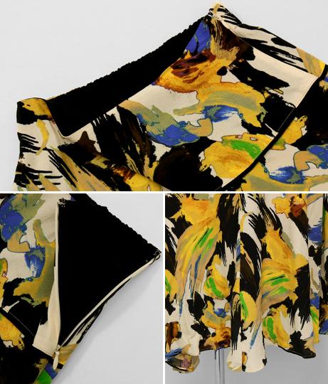 ボタニカルアシンメトリースカート(ボトムス・パンツ /スカート) | Alluge
