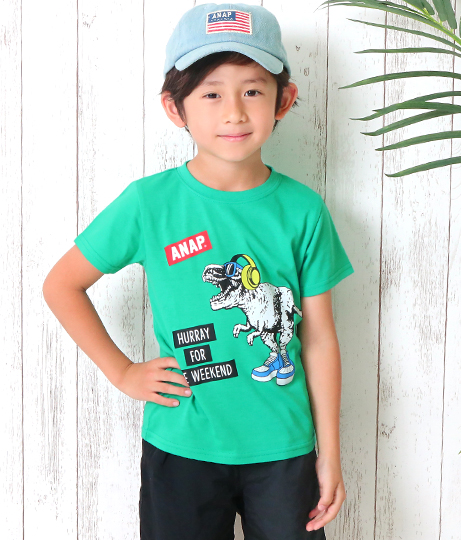 ●T-REXプリントTシャツ | ANAP KIDS