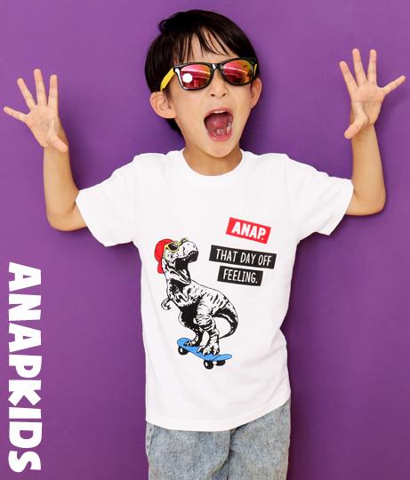 T-REXプリントTシャツ
