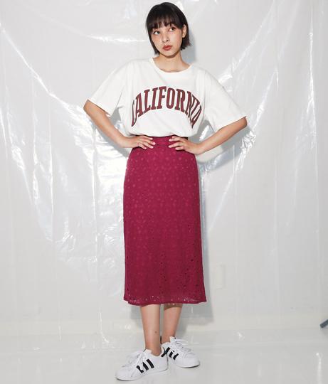 コットンレーススカート(ボトムス・パンツ /スカート) | Alluge