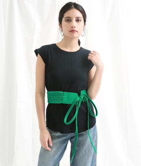 メッシュデザインウエストベルト(ファッション雑貨/ベルト) | Settimissimo