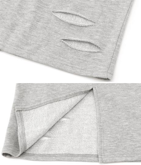 裏毛ブロークンスカート【別売りSETUP】(ボトムス・パンツ /スカート) | ANAP