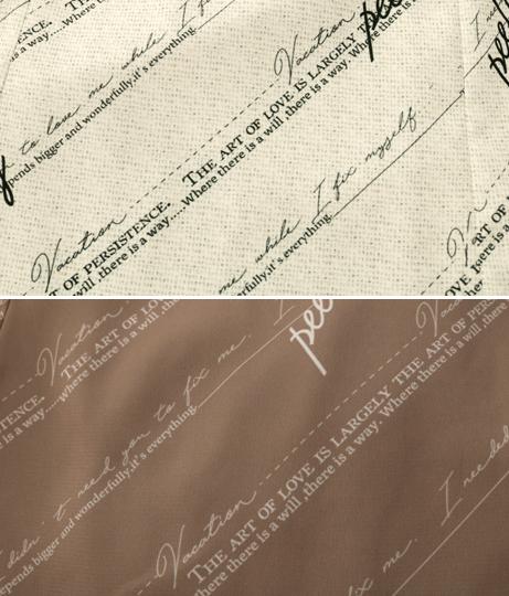 バイアスロゴプリントマーメイドスカート(ボトムス・パンツ /スカート) | Alluge