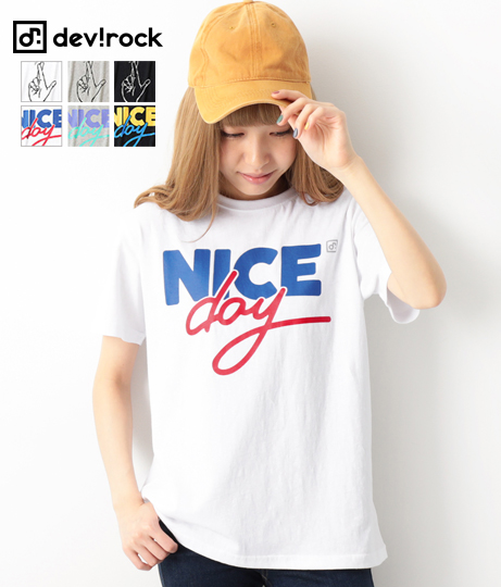 namiiiiコラボ プリント半袖Tシャツ全3色全3柄M-L