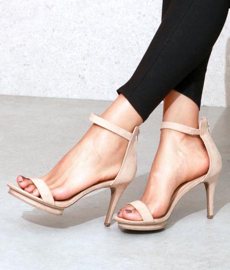 バックジップヒールサンダル(シューズ・靴/サンダル) | Anap USA