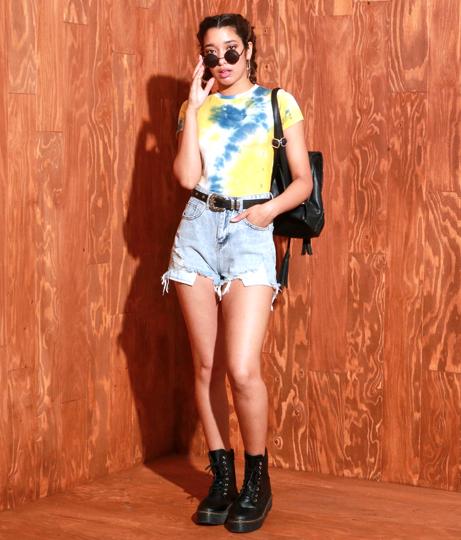 タイダイジャストTシャツ(トップス/Tシャツ)   Anap USA