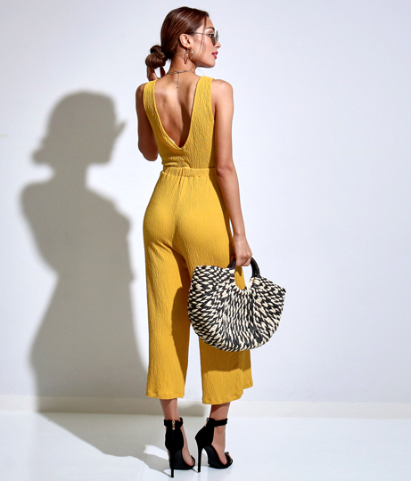 エンボスフロントリボンオールインワン(ワンピース・ドレス/サロペット/オールインワン) | Anap USA