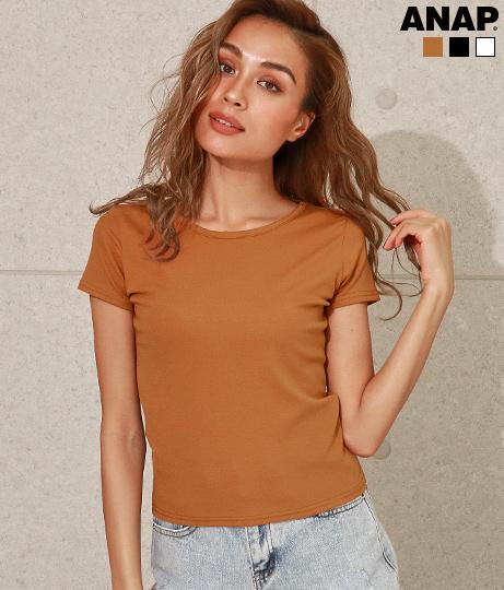 バッククロスタイトTシャツ
