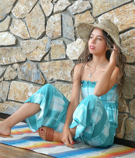 タイダイベアサロペット(ワンピース・ドレス/サロペット/オールインワン) | anap mimpi