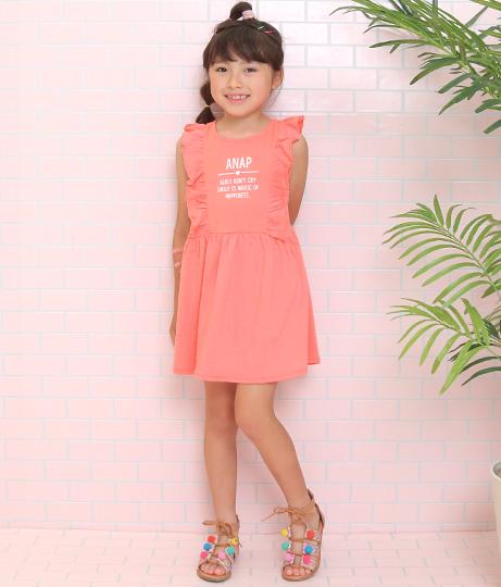 フリルワンピース(ワンピース・ドレス/ミディアムワンピ) | ANAP KIDS
