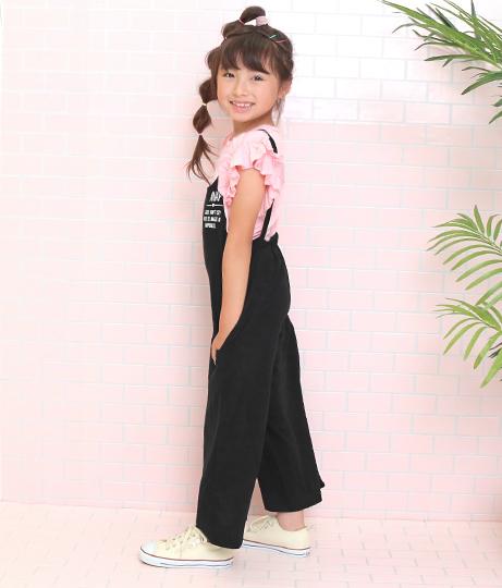 カットソーサロペット(ワンピース・ドレス/サロペット/オールインワン) | ANAP KIDS