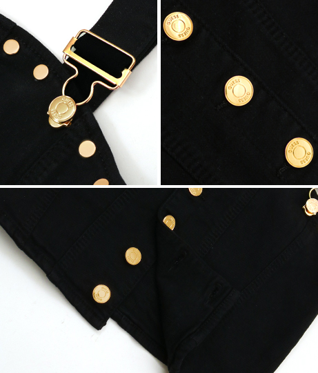 GUESS STUDDED BLACK TOP | GUESS