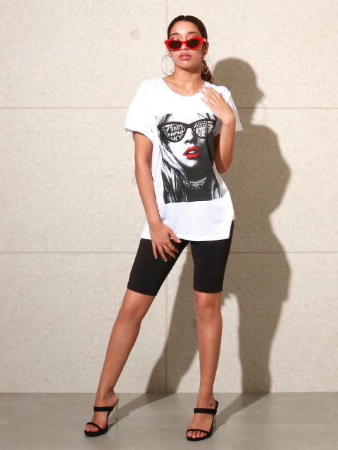 GUESS SS GIVE ME AMORE TEE