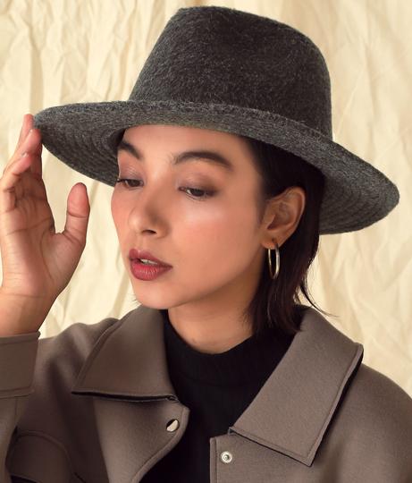 モッサー中折れハット(ファッション雑貨/ハット・キャップ・ニット帽 ・キャスケット・ベレー帽) | Alluge