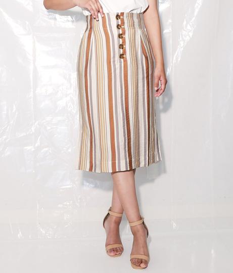 マルチストライププリントタイトスカート(ボトムス・パンツ /スカート)   Alluge