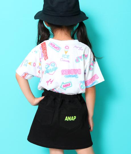 テープ付インパンツスカート(ボトムス・パンツ /ショートパンツ・スカート) | ANAP KIDS