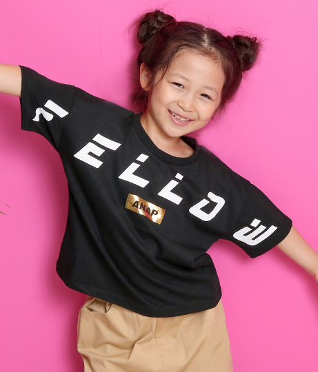 FELLOWプリントTシャツ(トップス/Tシャツ)   ANAP KIDS