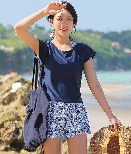 HOYUKIタンキニビキニ+Tシャツセット(水着/ビキニ・水着セット) | HOYUKI