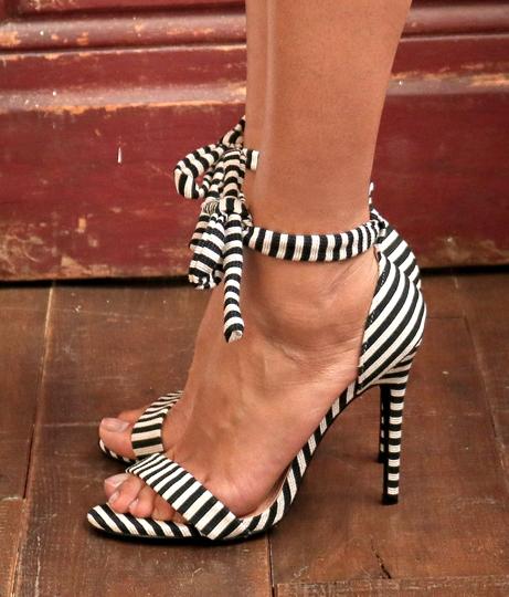 キャンバスストライプサンダル(シューズ・靴/サンダル) | Anap USA
