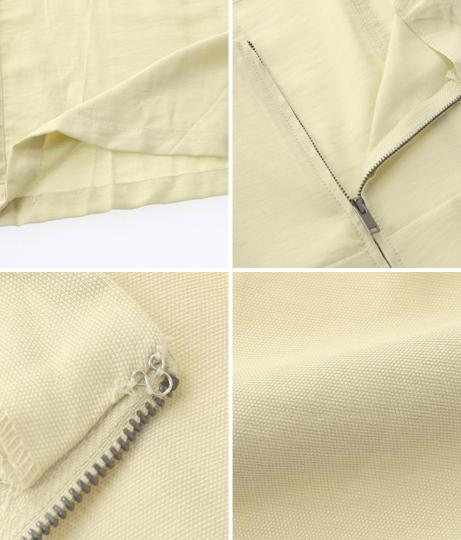 タックバックジップジャンプスーツ(ワンピース・ドレス/サロペット/オールインワン) | Anap USA