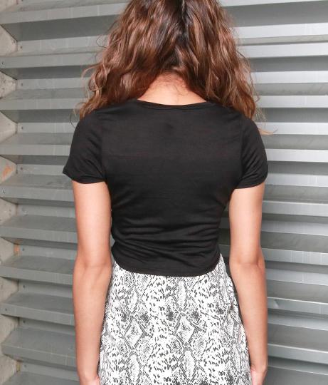 CHANGEウエストクロスミニTシャツ | Anap USA