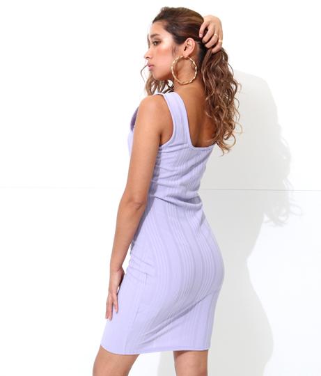 ミルキーカラーカシュクールヘムタンクワンピース(ワンピース・ドレス/ミニワンピ)   Anap USA