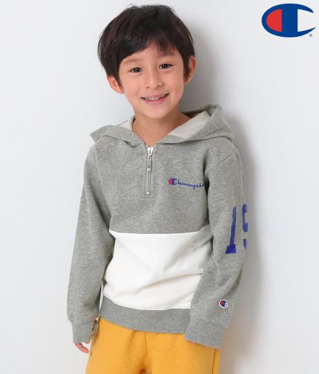 championKIDS ハーフジップフーディ(アウター(コート・ジャケット) /パーカー) | Champion Kids