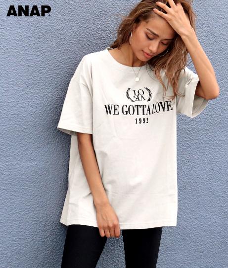刺繍デザインTシャツ
