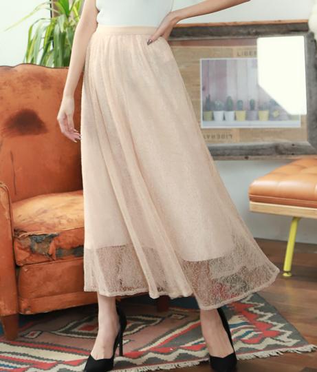 フラワーチュールフレアスカート(ボトムス・パンツ /スカート) | CHILLE