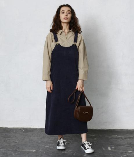 コーディロイジャンパースカート