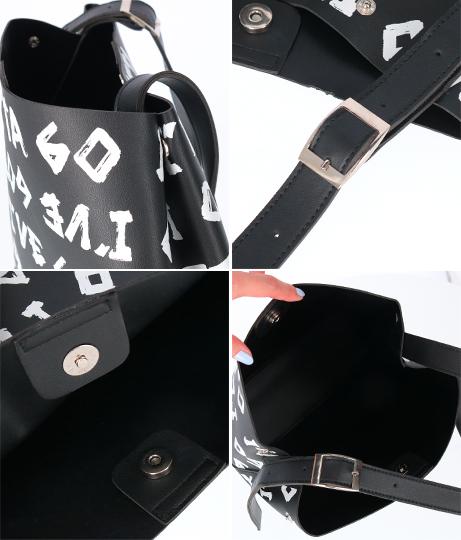 ポーチ付き総柄プリントバッグ(バッグ・鞄・小物/トートバッグ) | ANAP