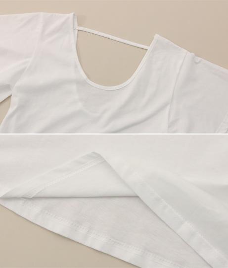 袖フリルTシャツ | ANAP