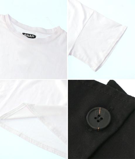 ビスチェ付ビッグTシャツ(トップス/Tシャツ・ビスチェ) | ANAP
