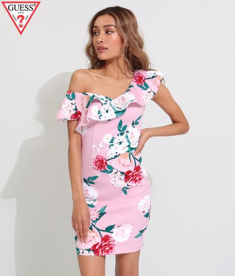 GUESS SL FARRAH DRESS(ワンピース・ドレス/ドレス・ミニワンピ) | GUESS