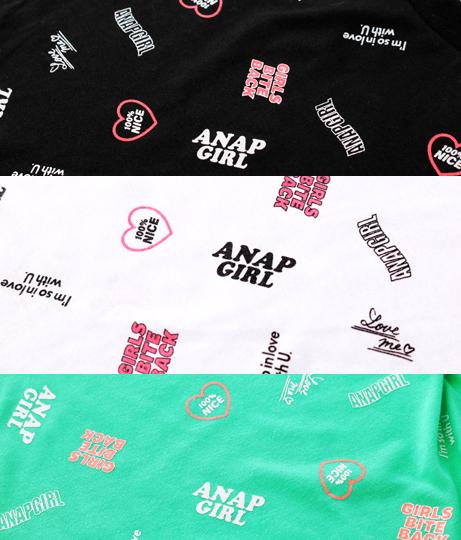 ミニ総柄トップス(トップス/Tシャツ) | ANAP GiRL